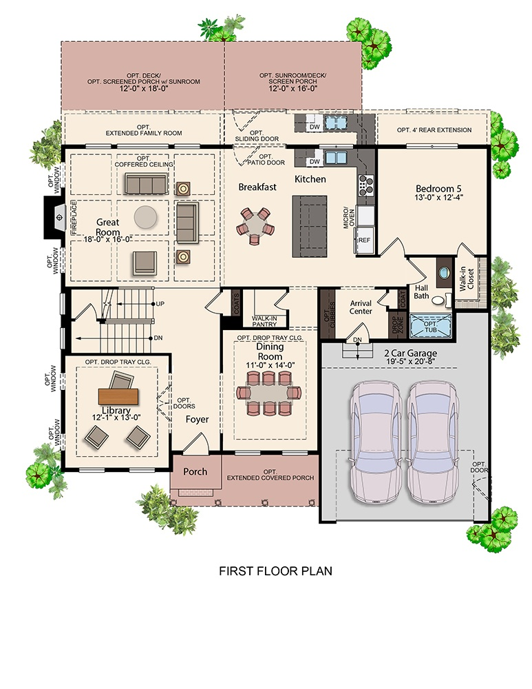 The Grant | First Floor